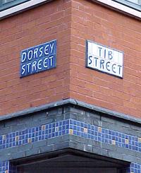 Ceramic street signs